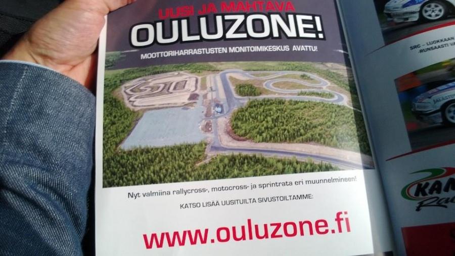 OuluZonen ensimmäinen vaihe on valmis - Tänään upean moottoriurheilukeskuksen avajaiset! Valmiina siis tänään SM-osakilpailua isännöinyt rallicrossrata ja motocrossrata ja kohta työnalla kartingradan rakentaminen.