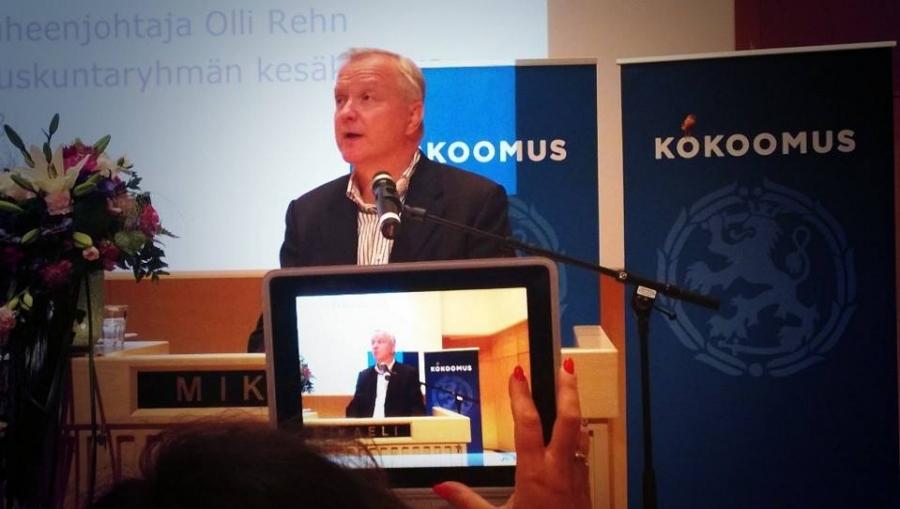 Itse toki näkisin mielelläni Rehnin tapaisen ammattilaisen mukana jatkossakin Eurooppa-politiikassa. Toivotaan, että paikan keskustan listalta saa ja pääsee jatkamaan arvokasta työtään.