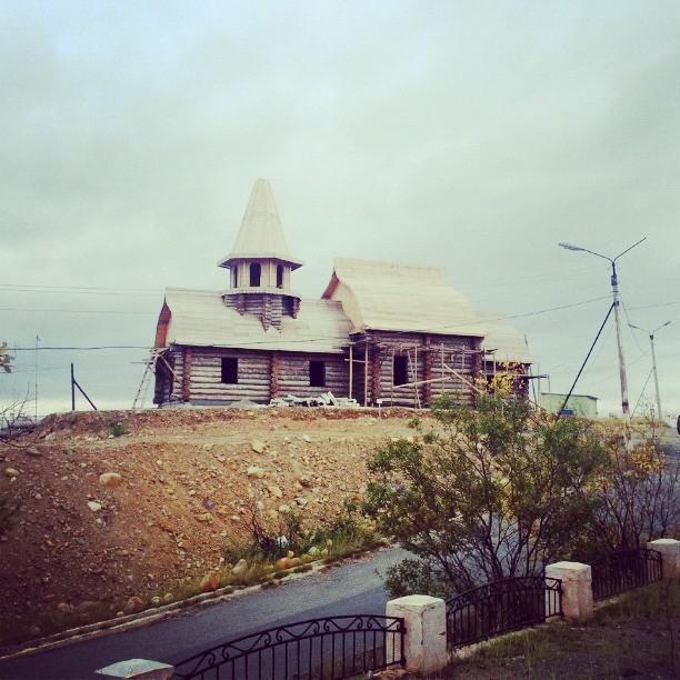 Petsamon kunnan Nikkelissä rakenteilla uusi kirkko
