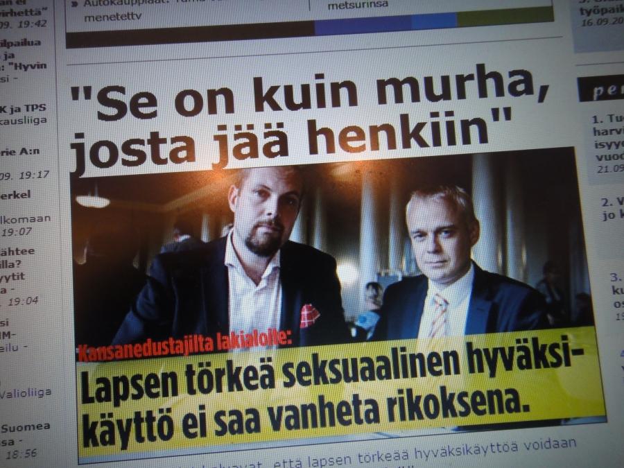 Aloitteemme tänään laajasti esillä Iltalehdessä: