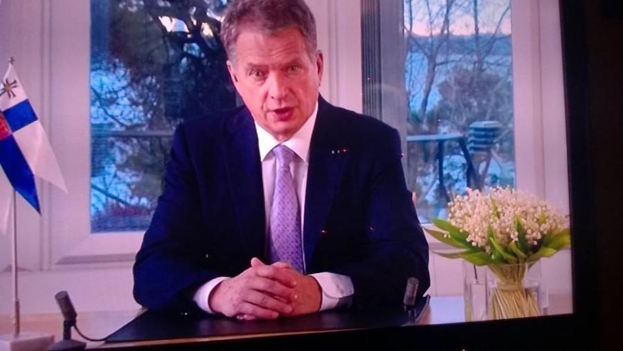 Vahva arvojohdattelijan puhe. Esillä Eurooppa, talous, vastuu ja välittäminen. Markkinavoimienkin vastuu. Eurooppalainen tie on meidän tie. Tähän tiehen meidän on vaikutettava. Tarvitaan rehellistä keskustelua.