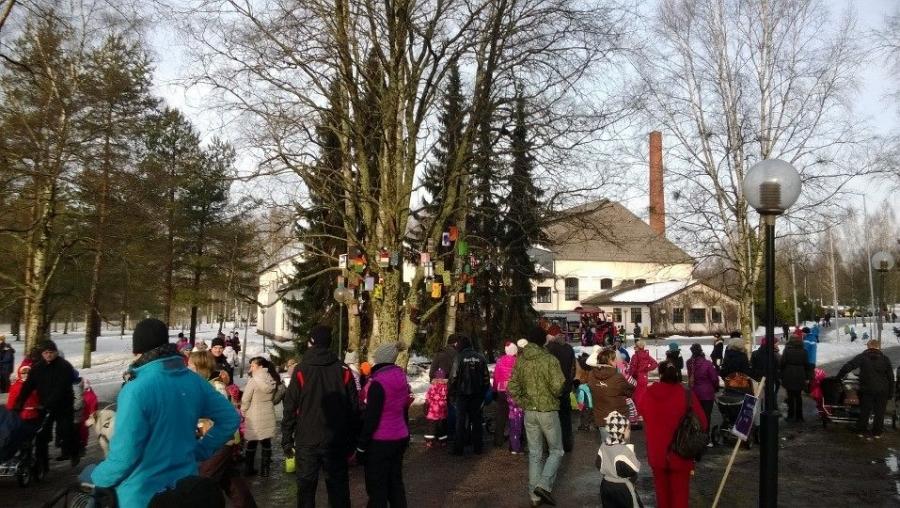 Talvikki keräsi jälleen Metsästymuseolle valtavasti väkeä. Hieno perinteikäs tapahtuma, missä koko perhe viihtyy.