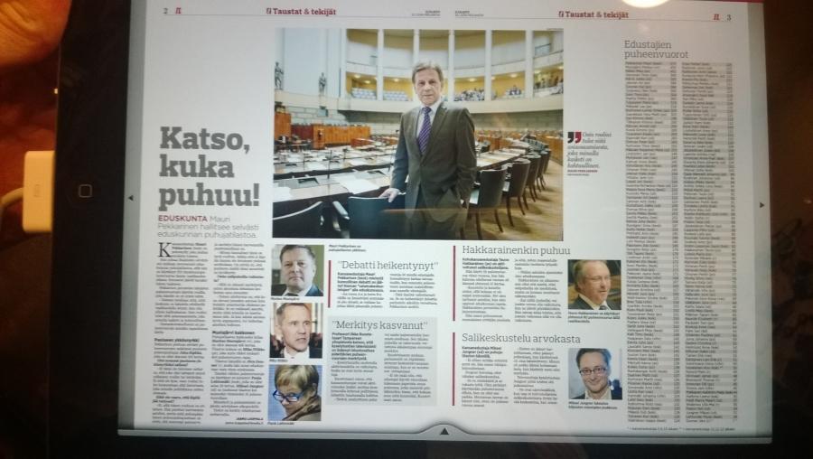 Kuvakaappaus Iltalehden uutisisesta.