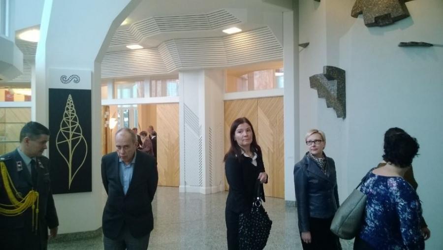 Mäntyniemessä Uav:n kanssa Tasavallan presidentin kanssa keskustelemassa Ukrainasta.