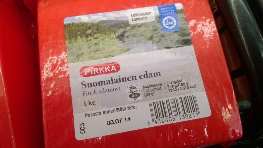 Ja Pirkalta myös juustoa...