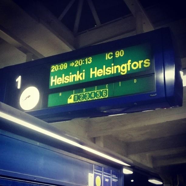 Ja takaisin Helsinkiin vielä illaksi.