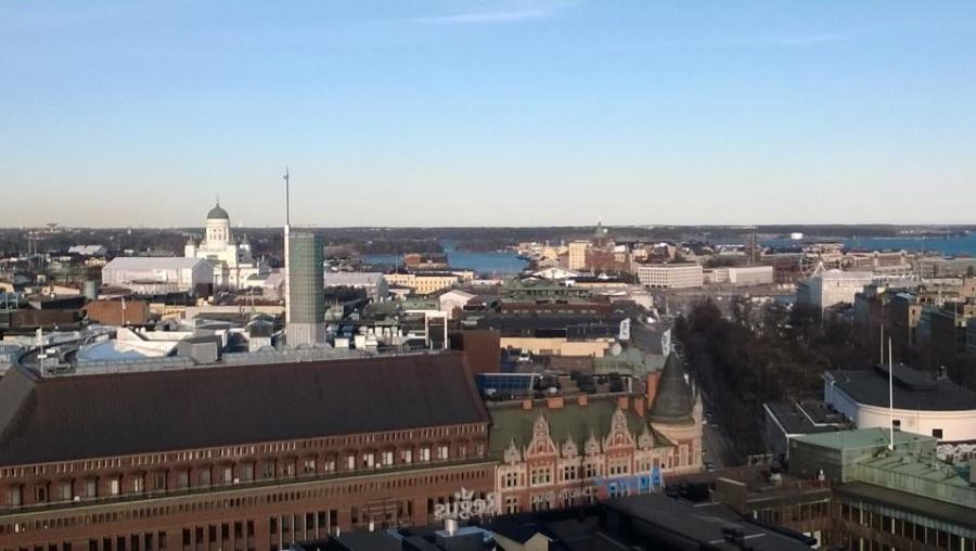 Ja Helsinkiä ilmasta ja maasta. Paljon nähtävää ja koettavaa.
