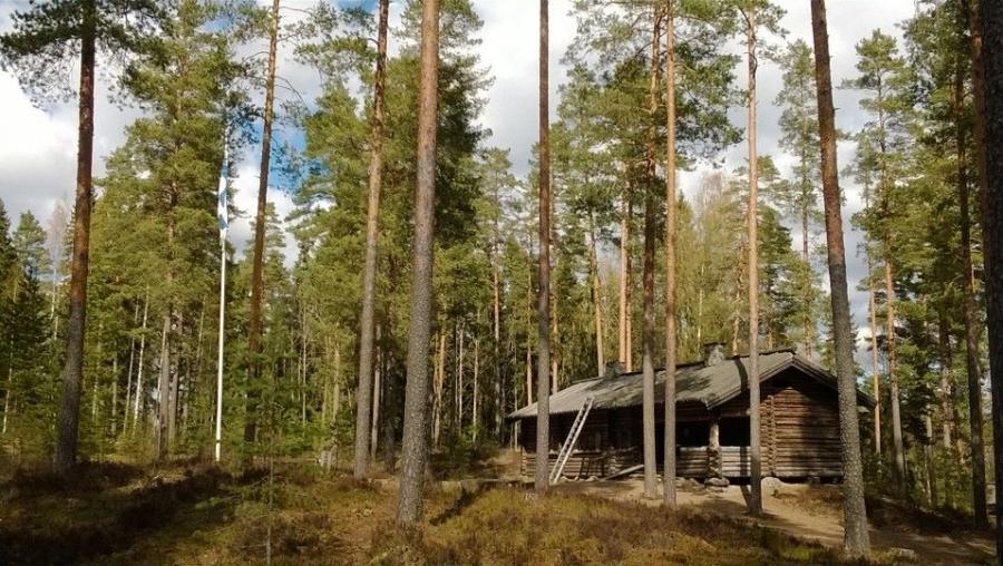 Marsalkka Mannerheimin Metsästysmajan Kevätlounaan tunnelmia tältä päivältä...