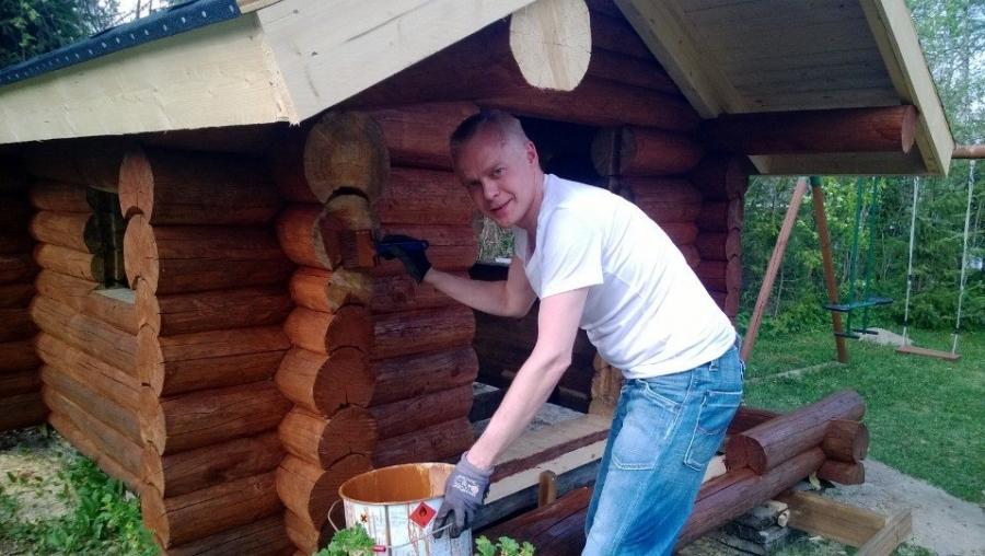Kivan päivän kiva päätös. Pikku-Pekka sai Pekkalan punahongan pintaansa.