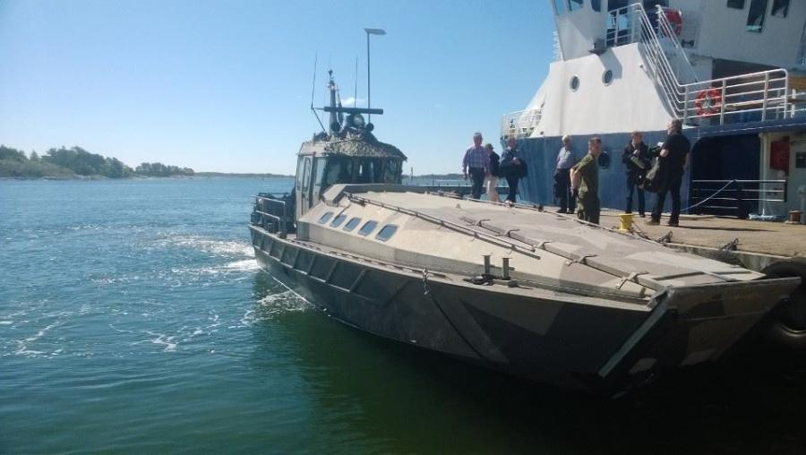 Ja nyt merelle mars... Merivoimien Jurmolla.