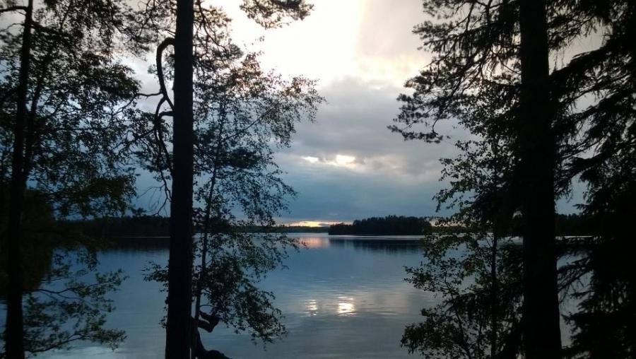 Syrjän rannasta Pekkalaan päin.