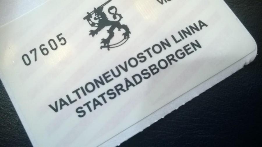 Valtioneuvoston Linna ja uusi pääministeri.