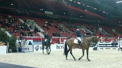 Helsinki International Horse Show alkoi tänään ja nyt jälleen Helsingin Jäähallissa. 30. juhlatapahtuma ja hieno avausilta heti.