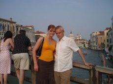 Sadun kanssa Venetsiassa.