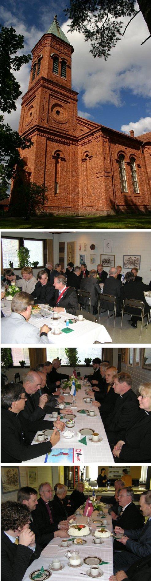 Lopen seurakunnassa suoritetaan piispantarkastus tänä viikonloppuna. Tampereen hiippakunnan piispa, Lopellakin aikanaan pappina työskennellyt , Juha Pihkala vieraili seurueensa kanssa kuntamme vieraina perjantai-iltapäivänä. Mukana seurueessa oli myös Latvian arkkipiispa Janis Vanags.