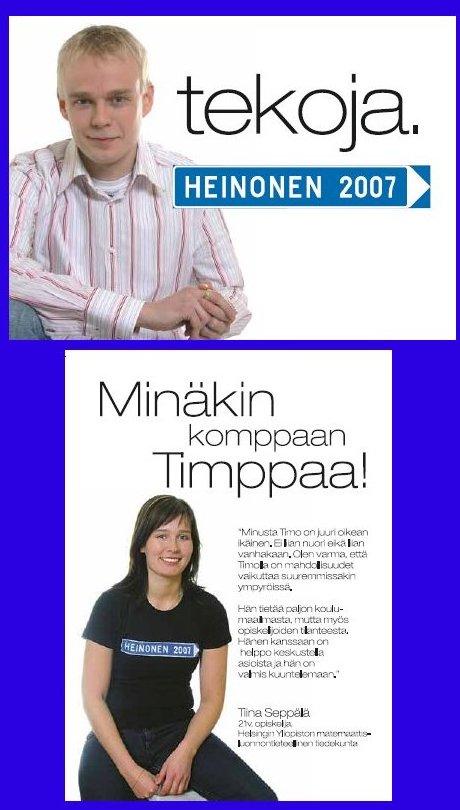 Tänään kampanjamme ulkoasusta vastaava Juha Järvinen toimitti Riihimäen Kirjapainosta lämpimäisiä. Uudet kortit ja esitteet ovat huomenna jaossa kampanjatoimistomme avajaisissa. Tässä siis pari erimerkkiä :) Tarjolla kahvia ja pullaa. Huomenna kuulolla.