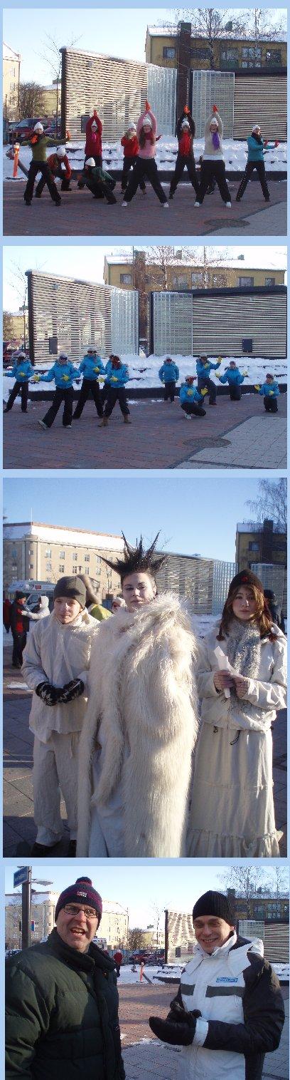 Graniitin talvitapahtuma keräsi hyvin väkeä. Aamupäivällä poikkesimme siellä ja sitten Lahden Snowcrossin MM-kilpailuihin.