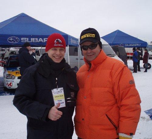 Rallilegenda Markku Alen on mukana urheiljoiden tukijoukoissani. Lauantaina oli SM-kauden toisessa kilpailuviikonlopussa Tahkolla. Tahko Spa rallissa Markun poika Anton Alen ajoi huippuaikoja, mutta lopulta pieni virhe heitti auton ulos tieltä ja lumeen ja matka jäi kesken.