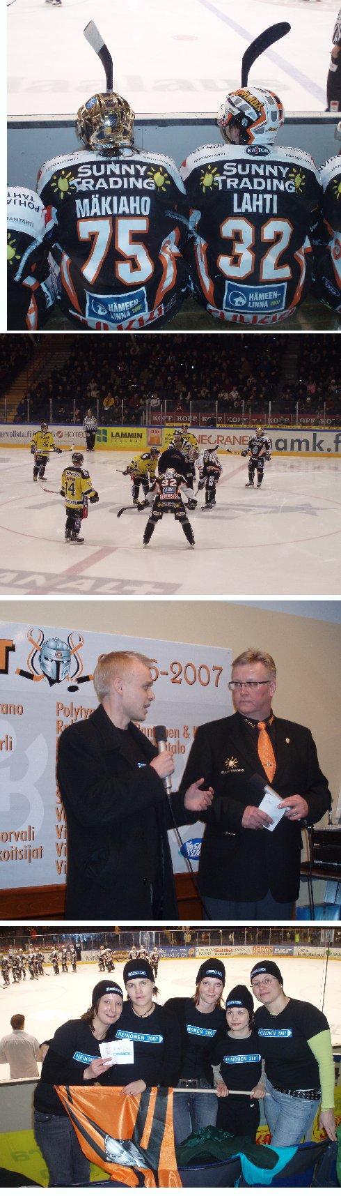 HPK voitti Janne Lahden johdolla Saipan maalein 5-1. Mukana pelissä kuusi teamiläistä ja yli tuhat korttia löysi ottajansa parkkipaikoilla. Vaihtopenkillä Janne Lahti ja Toni Mäkiaho numero 75 :)