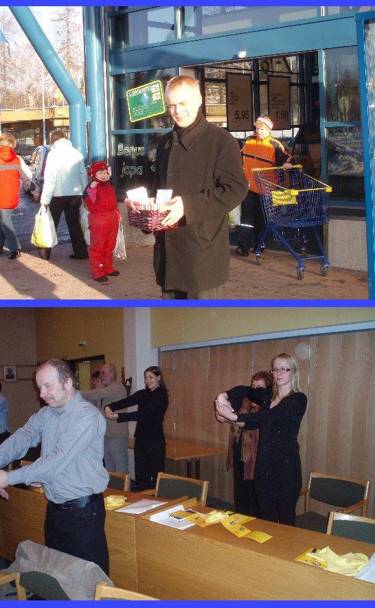 Maanantaina 5.3. kiersin Lounais-Hämeessä. Forssa ja Jokioinen nyt kohteina. Sitten Kalvolaan Iittalan S-Marketille. Illan valtuuston kokous alkoi Reumaliiton jumppatuokiolla.