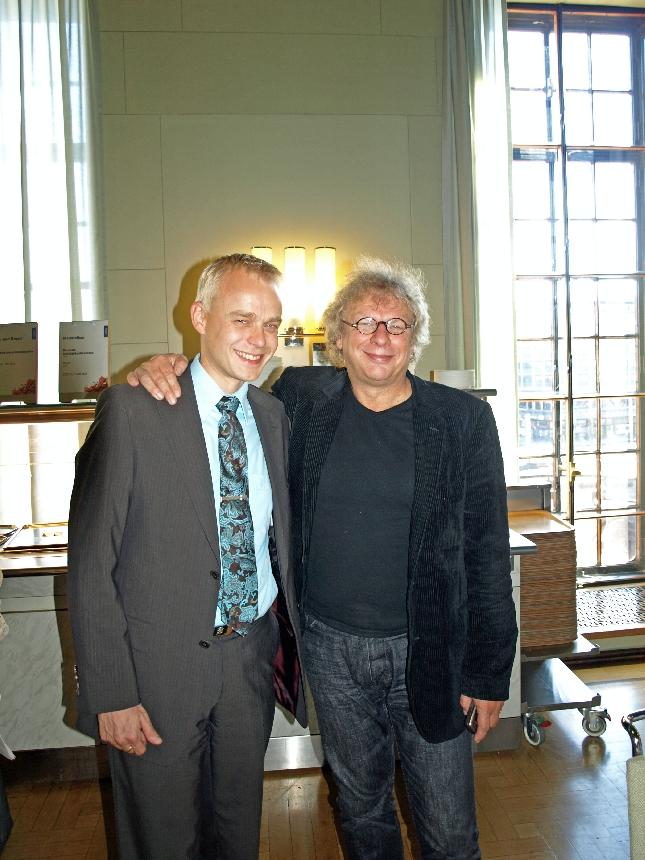 Edustajat Tabermann ja Heinonen :) Kuva viime viikon keskiviikolta 19.9.2007. Kuva: Lopen Lehti Marjo Friman