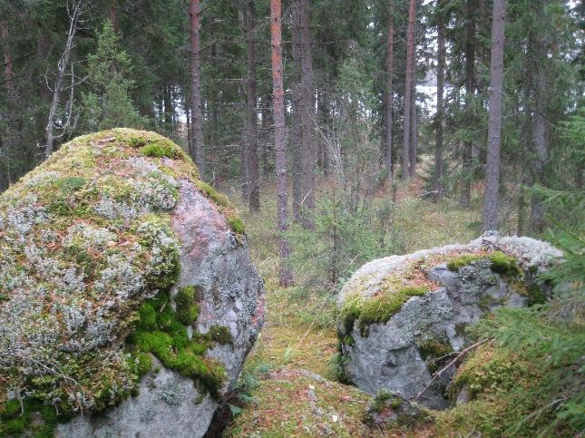 Onkohan esi-isät joskus näiltä kiviltä tarkkailleet vesille. Tarinoidenhan mukaan kuntamme nimikin tulee vesitien lopusta.