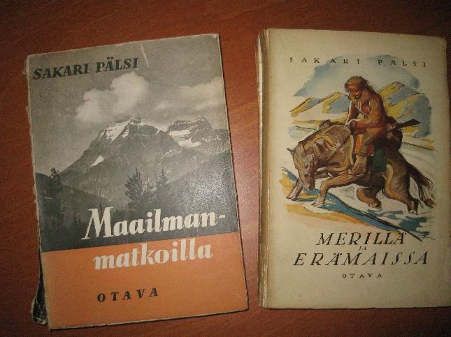 Tänään ehdin ruokatauolla pyörähtää myös eduskunnan läheisimmässä antikvassa. Ensimmäistä kertaa vasta. Juhani Peltosen kirjat olivat laatikoiden takana ja menivät näin ollen odotukseen, mutta matkaan sain kaksi hyvää löytyä Sakari Pälsiltä. Puukko kirja edelleen kuitenkin uupuu. Olisiko jollakulla ylimääräistä??