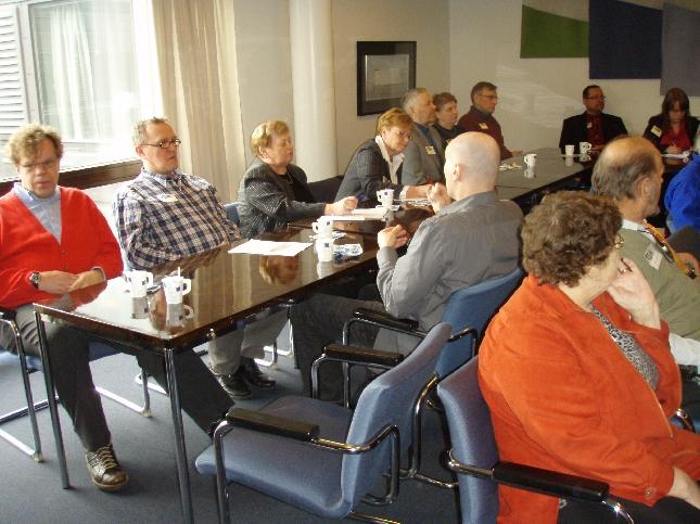 Hämeenlinnan vammaisneuvoston ja seudullisen vammaisneuvottelukunnan eduskuntavierailu