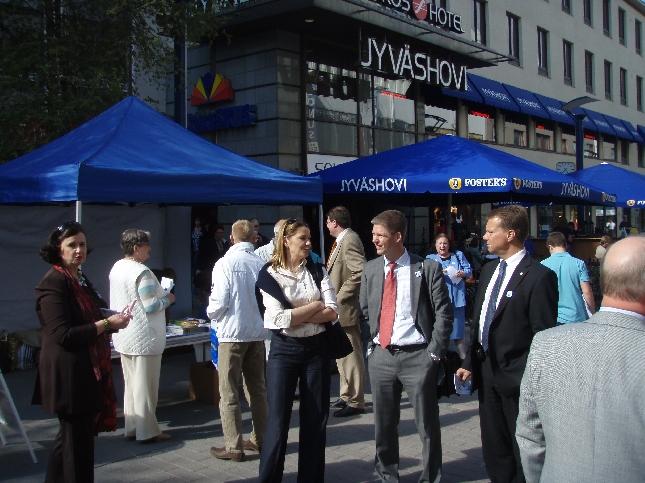 Merja Vahter, Ulla Karvo, Sampsa Kataja ja Jukka Mäkelä.