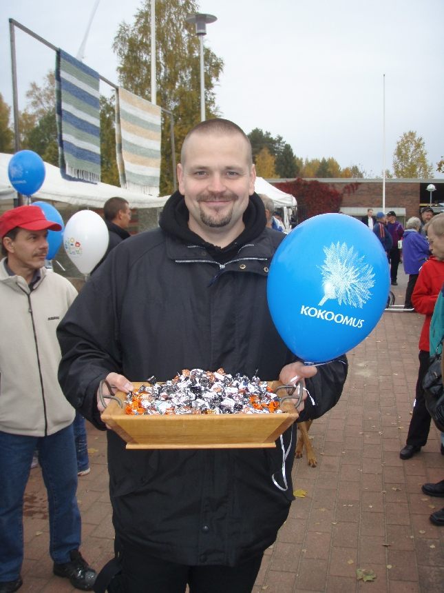 Namusetä :) Seppo Rintaluoma on yksi tuoreista loppilaisehdokkaistamme.