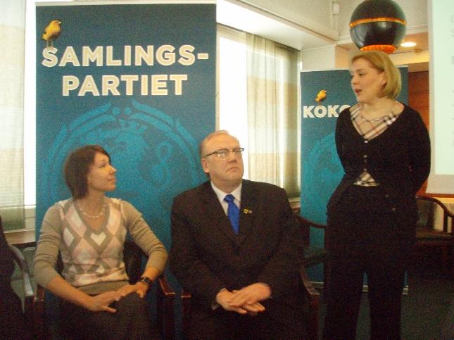 Puoluesihteerimme Taru Tujunen esitteli tänä lisää puolueemme EU-ehdokkaita puoluehallitukselle. Nippu alkaa olla viimeistä rypästä vaille valmis.
