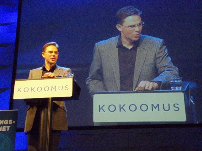 Tässä muutamia kuvia Hämeenlinnan Puheenjohtajapäiviltä. Lisäilen kuvia lisää pian. Alla kuva myös päivän todellisesta yllätysvieraasta.