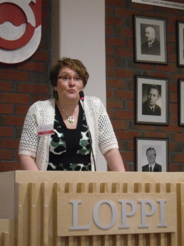 Tarkastuslautakunnan puheenjohtaja Eija Aittola esitteli tänään viime vuoden ja hieman myös koko menneen nelivuotiskauden tapahtumia ja tuloksia. Erinomaista työtä.
