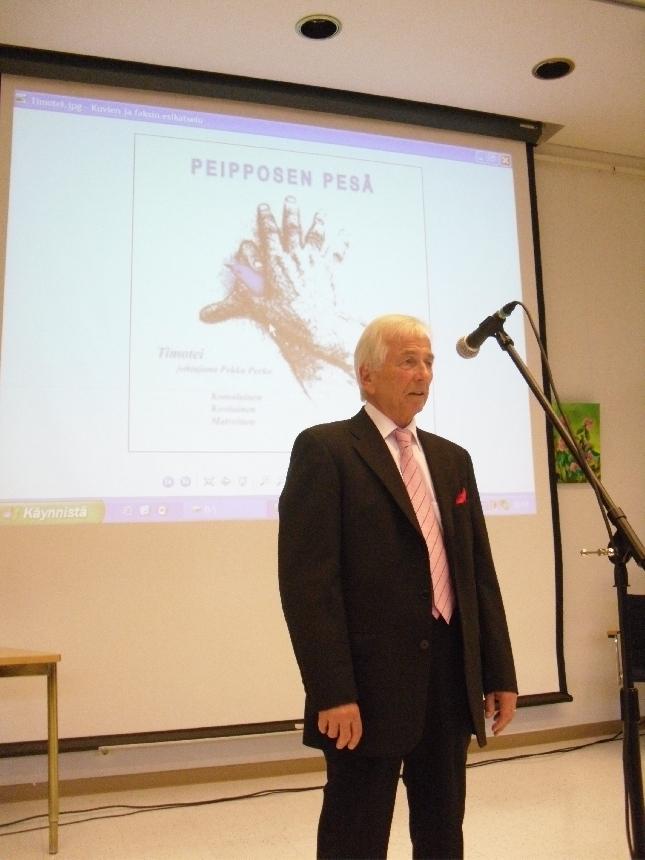 Pekka Perko ja Timotei kuoro julkaisi tänään illassa uuden levyn mikä sisältää kaikki Juhani Peltosen runoista tehdyt kuorosävellykset. Peipposen pesä sisältää myös Jussin itsensä lukemana yhden runon.