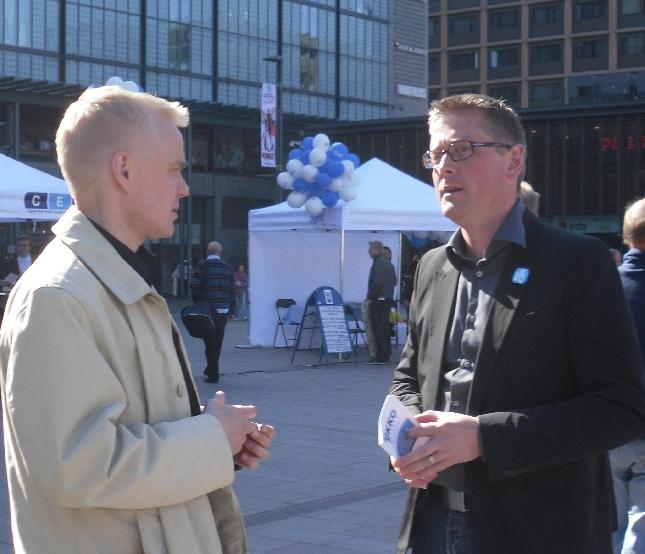 Ukko Metsola on yksi meidän Eurovaalien yllättäjistä ainakin isolle yleisölle. Näin uskon. Osaava ammattilainen, jollaisia EU:hun kannattaa pienen maan ennen muuta lähettää.