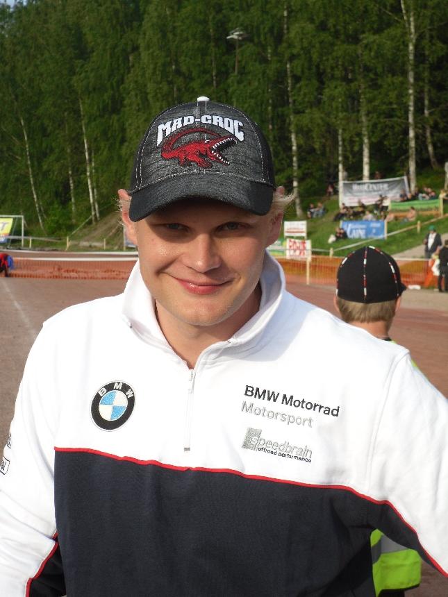 Marko Tarkkala ennen illan koitosta.