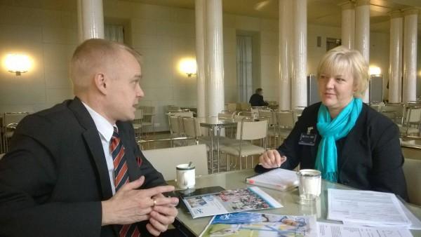 Tapaaminen tänään Suomen Agilityliiton Sirpa Sippolan kanssa. Tavoitteemme saada hieno ja kasvava laji urheilutukien piiriin.