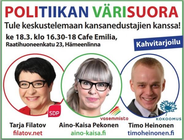 politiikan värisuora
