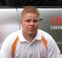 Yrittäjä Aki Harri palkittiin Vuoden 2015 Lopen Yrittäjänä.