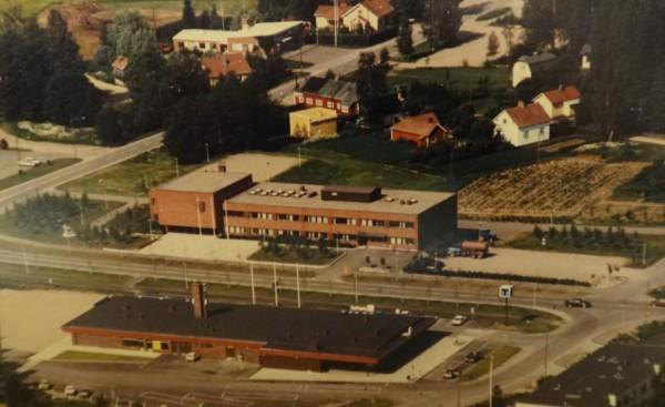 Kunnantalo ja Linjaautoasema 1983 J