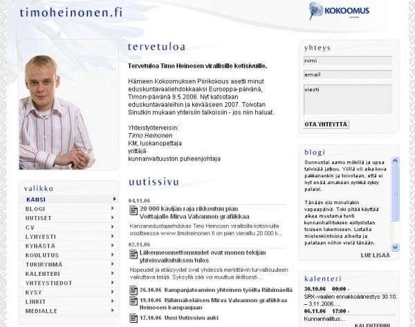 kotisivut 2006